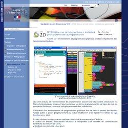 Site STI de l'académie d'Orléans-Tours - [STI2D] Misez sur le ticket Arduino + Ardublock pour appréhender la programmation