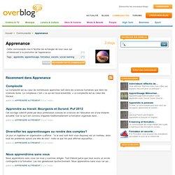 Apprenance sur OverBlog