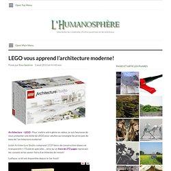 LEGO vous apprend l'architecture moderne!