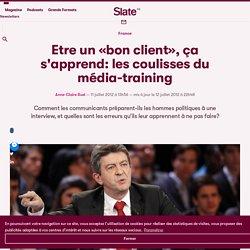 Etre un «bon client», ça s'apprend: les coulisses du média-training