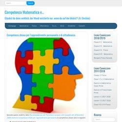 Competenze chiave per l'apprendimento permanente e di cittadinanza - Competen...