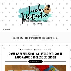 Board Game per l'apprendimento dell'inglese Archivi - Jack Potato