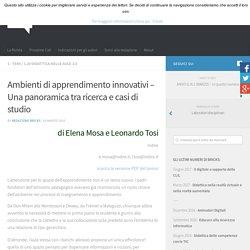 Ambienti di apprendimento innovativi – Una panoramica tra ricerca e casi di studio – BRICKS