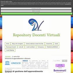 Soluzioni di apprendimento a distanza - Benvenuti su Repositori Docenti Virtuali
