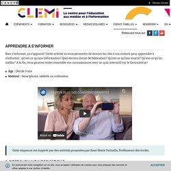 Activité Apprendre à s'informer- CLEMI