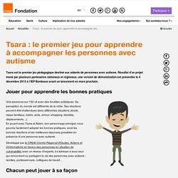 Tsara: le premier jeu pour apprendre à accompagner les personnes avec autisme