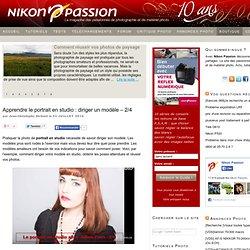 Apprendre le portrait en studio : diriger un modèle – 2/4 - Actualités, tutoriels, tests et forum photo Nikon Passion