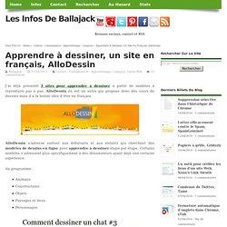 Ballajack : Apprendre à dessiner, un site en français, AlloDessin