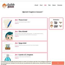 Jeux pour apprendre l'anglais en ligne