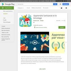 Apprendre l'artisanat et le bricolage – Applications sur GooglePlay