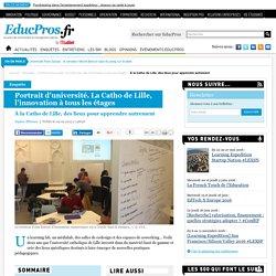 À la Catho de Lille, des lieux pour apprendre autrement - Enquête sur Educpros