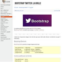 Apprendre à créer une grille Bootstrap Twitter