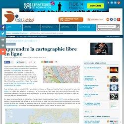 Apprendre la cartographie libre en ligne