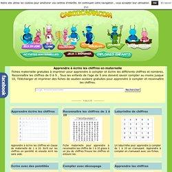 Apprendre à écrire les chiffres en maternelle