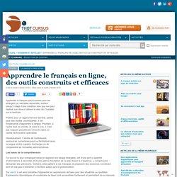 Apprendre le français en ligne, des outils construits et efficaces