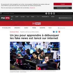 Un jeu pour apprendre à débusquer les fake news est lancé sur internet - rts.ch - Sciences-Tech.