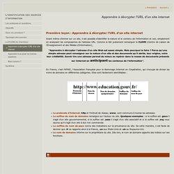 Apprendre à décrypter l'URL d'un site internet