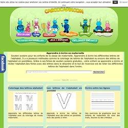Apprendre à écrire en maternelle