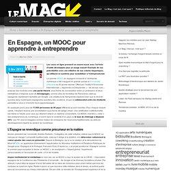 Un MOOC pour apprendre à entreprendre