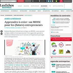 Apprendre à créer : un MOOC gratuit et en ligne pour les (futurs) entrepreneurs