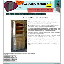 Plan de meuble