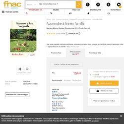 Apprendre à lire en famille - broché - Marlène Martin - Achat Livre - Achat & prix