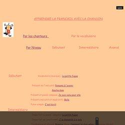Apprendre le Franais avec la chanson, chanson FLE, Elonore Degrigny