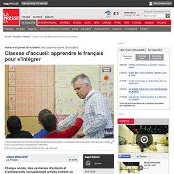 Classes d'accueil: apprendre le français pour s'intégrer