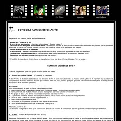Apprendre le francais avec le cinema francais