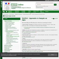 FLE/FLS : Apprendre le français en ligne — Lettres