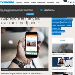 Apprendre le français avec un smartphone