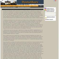 apprendre l' allemand en ligne online gratuitement - Deutsch lernen - online Lehrbuch