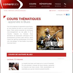 Cours de guitare blues en video