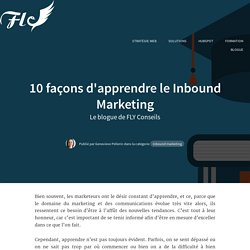 10 façons d'apprendre le Inbound Marketing