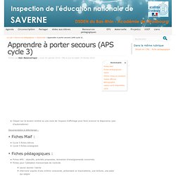 Porter secours pearltrees - Apprendre a porter secours cycle 3 ...