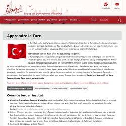 Apprendre le Turc - Istanbul Accueil