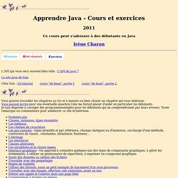 Apprendre Java (2011)