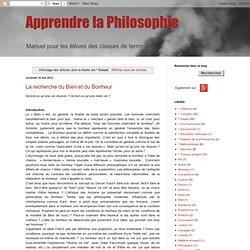 Apprendre la Philosophie: * Cours