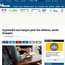 Apprendre une langue pour les affaires, mode d'emploi