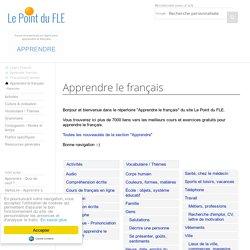 FLE Apprendre le français