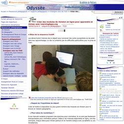 Créer des modules de révision en ligne pour apprendre et réviser avec LearningApps.org - Page 4/4