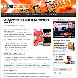 Les Gammes et les Modes pour Apprendre la Guitare