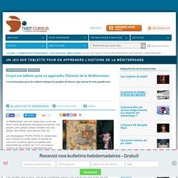 Un jeu sur tablette pour en apprendre l'histoire de la Méditerranée