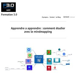 Apprendre a apprendre : comment étudier avec le mindmapping – Formation 3.0
