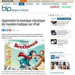 Apprendre la musique classique de manière ludique sur iPad