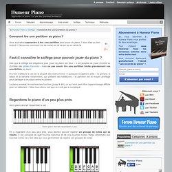 Apprendre à lire les notes au piano