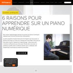 6 raisons pour apprendre sur un piano numérique