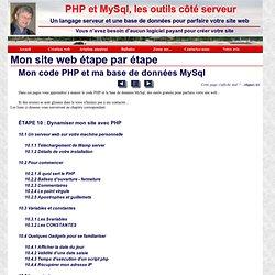 Apprendre PHP et MySql