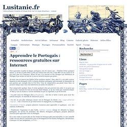 Apprendre le Portugais : ressources gratuites sur Internet