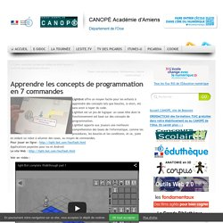 Liste ressources Codage - 7 ressources - CRDP Amiens